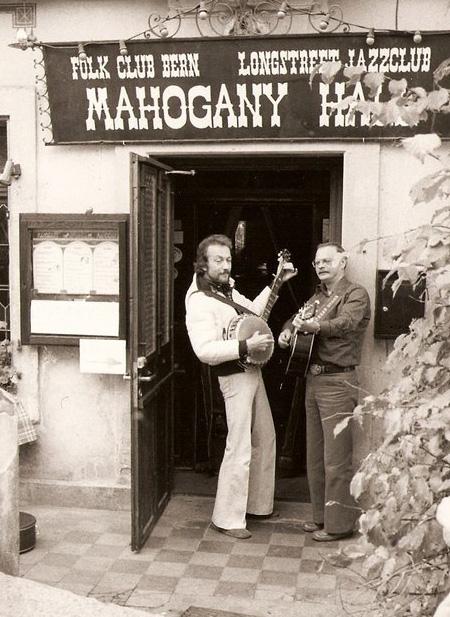 Mahogany Hall früher